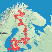 Itinerario en Finlandia