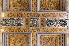 Ceiling at Kalmar Slott (Castle)