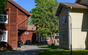Wooden Houses in Eskjo