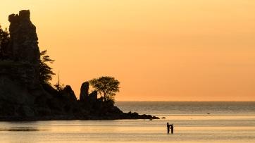 Sunset in Gotland