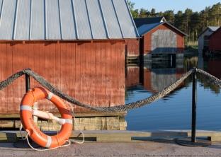 Little harbor Karingsund - Aland
