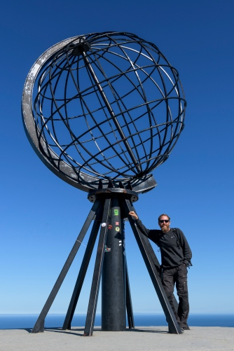 Offical Christian has reached the North Cape (71º 10´ 21¨) photo