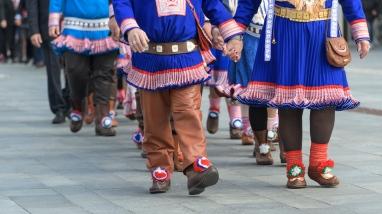 Sami wedding parade - Alta