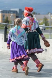 Sami wedding guests - Alta