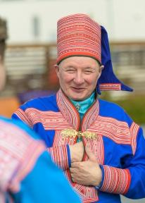 Sami wedding guest