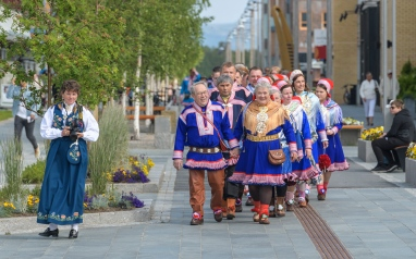 Sami wedding parade - Alta