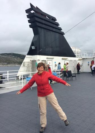 Isabel rocking the boat