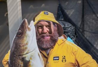 Fisherman in Nusfjord