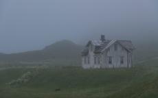 Misty evening in Hovden