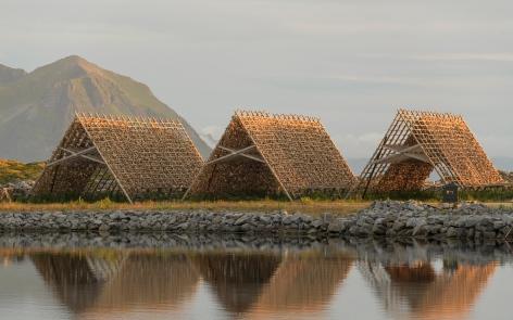 Fishing Racks in Laukvik