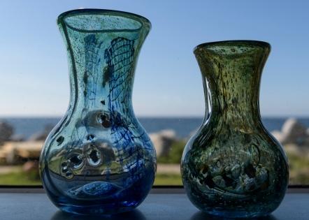 Glass art in Vikten