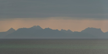 Looking back at Senja from Andenes