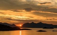 Sunset at Henningsvær