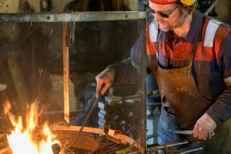 Blacksmith in Sund