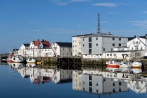 Reflections of Henningsvær
