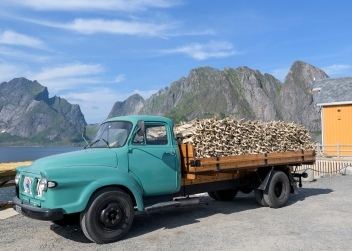Old fish truck