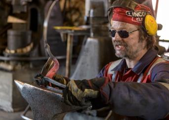 Blacksmith in Sund