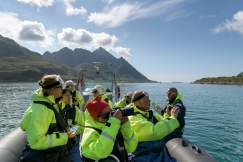 Rib boat of Lofoten-Explorer