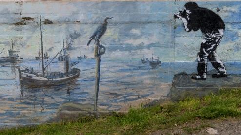 Streetart in Henningsvær