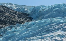Detail of Svartisen Glacier
