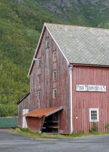 Sjogata district in Mosjoen