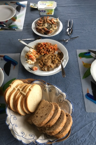 Lunch at Hilde's home
