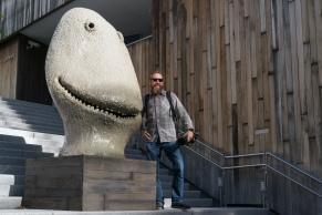 Christian making friends in Oslo