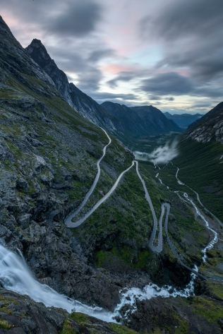 Evening at the Trollstigen