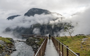 Viewing platform at Trollstigen