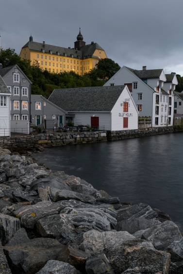 Evening in Alesund