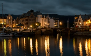 Reflections of Alesund