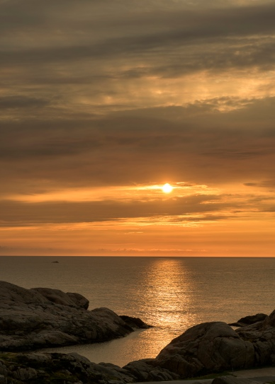 Sunset at Lindesnes Lighthouse