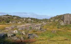 Along the hike up to Preikestolen