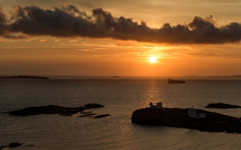 Sunset at Foloy Lighthouse