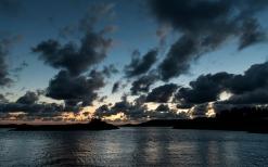 Sunset in Songdalstrand