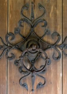 Entrance door - Heddal Stave Church