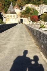 Strolling in Brantome