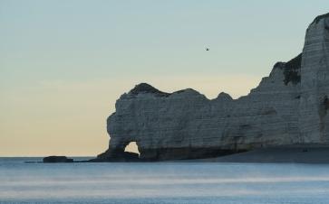 Étretat coast in the morning