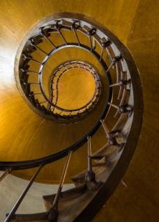 Staircase at Azay-le-Rideau