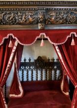 This is where Leonardo slept