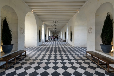 Ball room at Chenonceau