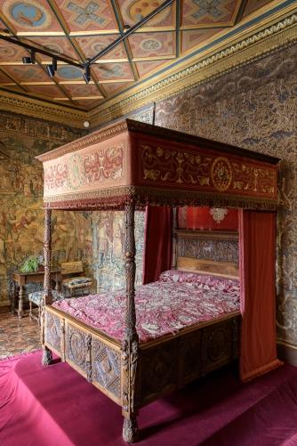 Her royal bedroom
