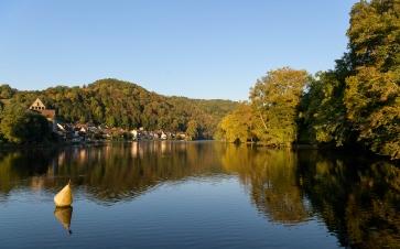 Reflections in Beaulieu-sur-Dordogne