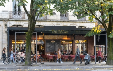 Cafe in Bordeaux