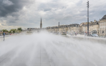 Steam fountain