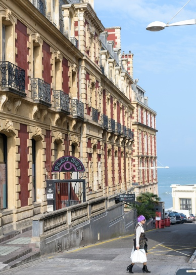 Glamourous architecture in Biarritz