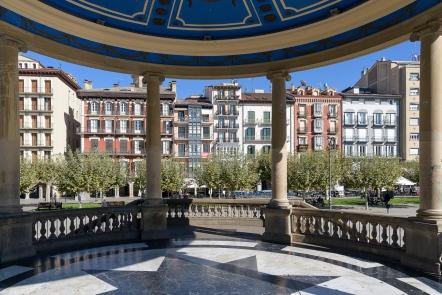 Pamplona square