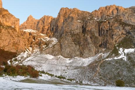 Morning light at Picos de Europa
