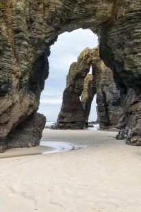 Arches at Cathedral beach