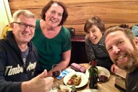 Tapas and fun with Jurgen and Bernadet